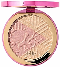 Fragrances, Perfumes, Cosmetics Highlighter - Pur X Barbie Confident Glow Signature Illuminating Highlighter