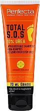 Fragrances, Perfumes, Cosmetics Foot Cream Compress - Perfecta Total S.O.S. 10% Urea