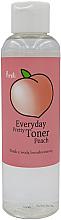 Fragrances, Perfumes, Cosmetics Peach Water Toner - Prreti Tonic with Peach Water