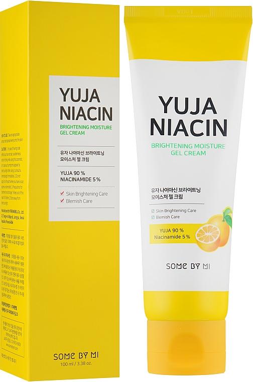 Brightening Moisturizing Facial Gel Cream - Some By Mi Brightening Moisture Gel Cream
