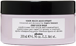 Fragrances, Perfumes, Cosmetics Nourishing Hair Conditioner - Davines Your Hair Assistant Prep Rich Balm