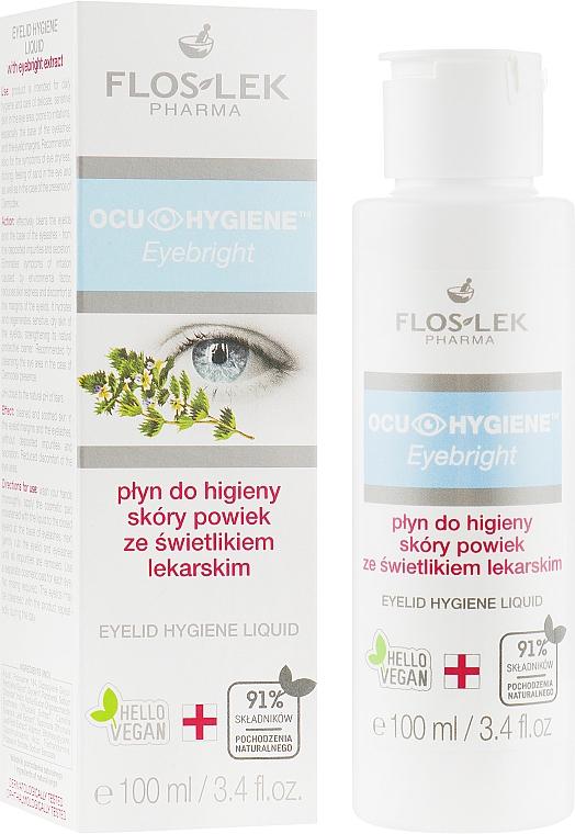 Herbal Eyelid Hygiene Fluid - Floslek Eyebright Eyelid Hygiene Liquid