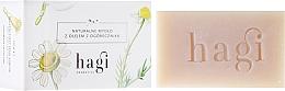 Fragrances, Perfumes, Cosmetics Natural Soap with Borage Extract - Hagi Soap