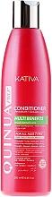 Fragrances, Perfumes, Cosmetics Color-Treated Hair Conditioner - Kativa Quinua PRO Conditioner