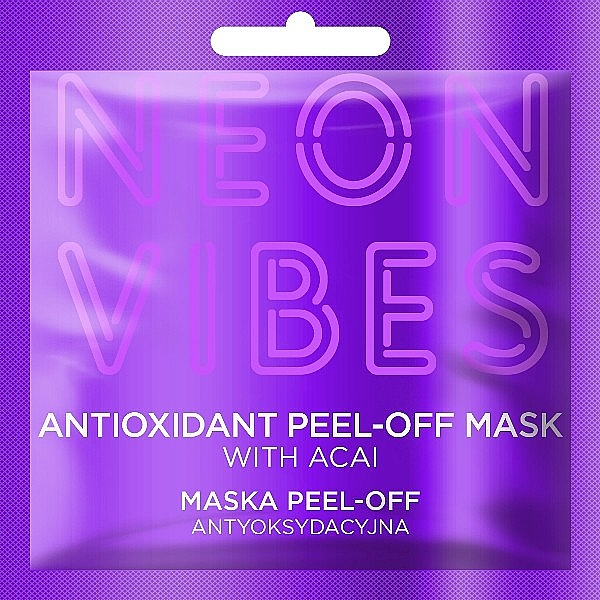 Face Mask - Marion Neon Vibes Antioxidant Peel-off Mask