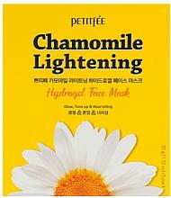 Fragrances, Perfumes, Cosmetics Lightening Hydro Gel Face Mask - Petitfee&Koelf Chamomile Lightening Hydrogel Face Mask