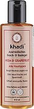 "Fragrances, Perfumes, Cosmetics Shower & Bath Gel ""Neem & Grapefruit"" - Khadi Bath & Body Wash Neem & Grapefruit"