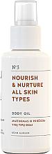 Fragrances, Perfumes, Cosmetics Nourishing Body Oil for All Skin Types - You & Oil Nourish & Nurture Body Oil