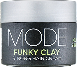 Fragrances, Perfumes, Cosmetics Strong Hold Volume Cream - Affinage Mode Funky Clay