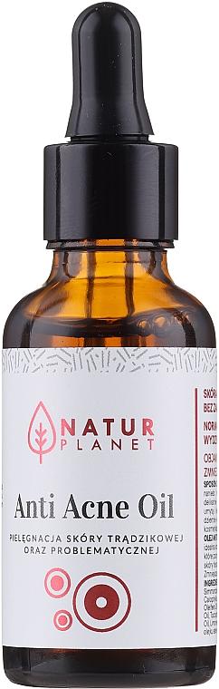 Anti Acne Oil - Natur Planet Anti Acne Oil