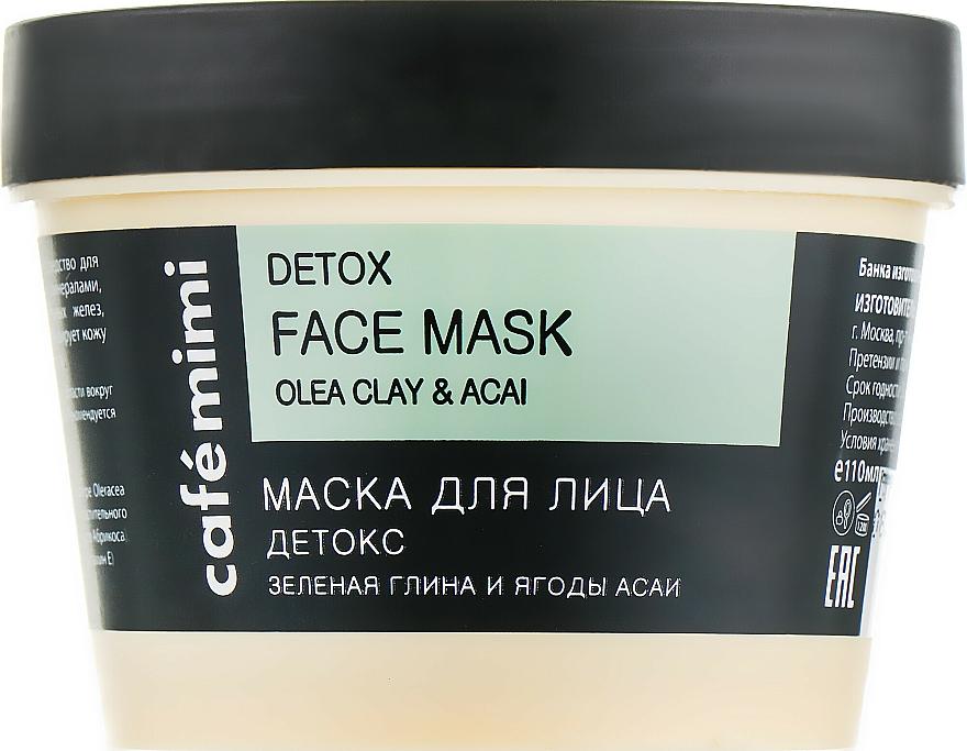"Face Mask ""Detox"" - Cafe Mimi Face Mask"