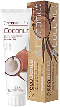 "Fragrances, Perfumes, Cosmetics Coconut Toothpaste ""Plaque Protection"" - Ecodenta Anti-Plaque Toothpaste Coconut"