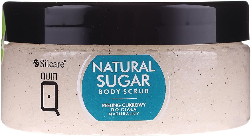 Natural Sugar Body Scrub - Silcare Quin Natural Sugar Body Scrub