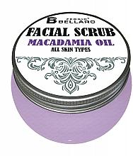 Fragrances, Perfumes, Cosmetics Macadamia Oil Face Scrub - Fergio Bellaro Facial Scrub