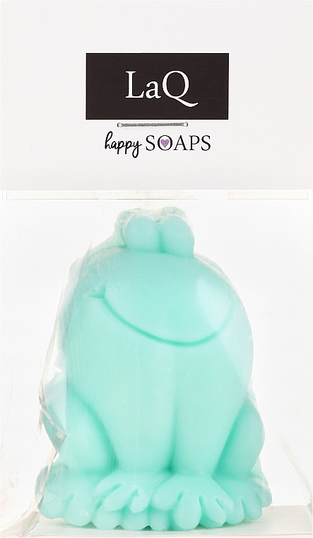 """Handmade Natural Soap """"Frog"""" with Kiwi Scent - LaQ Happy Soaps Natural Soap"""