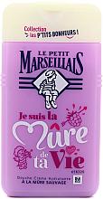 "Fragrances, Perfumes, Cosmetics Shower Gel ""Blackberry"" - Le Petit Marseillais Blackberry Shower Gel"
