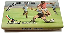 "Fragrances, Perfumes, Cosmetics Natural Soap ""Football"" - Florinda Sport & Spezie Natural Soap"