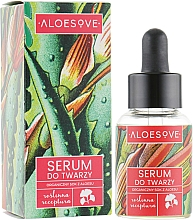 Fragrances, Perfumes, Cosmetics Organic Aloe Juice Extract Face Serum - Aloesove