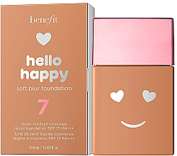 Fragrances, Perfumes, Cosmetics Soft Radiance Foundation - Benefit Hello Happy Soft Blur Foundation