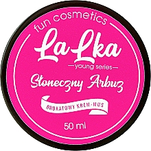 "Fragrances, Perfumes, Cosmetics Body Shining Cream Mousse ""Sunny Watermelon"" - Lalka"