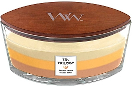 Fragrances, Perfumes, Cosmetics Scented Candle in Glass - WoodWick Golden Treats Ellipse Candle