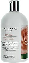 Fragrances, Perfumes, Cosmetics Shower & Bath Gel - Acca Kappa Rose Bath Shower