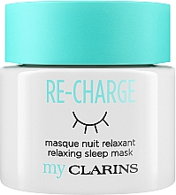 "Fragrances, Perfumes, Cosmetics Facial Night Mask ""Relax"" - Clarins My Clarins Re-Charge Relaxing Sleep Mask"