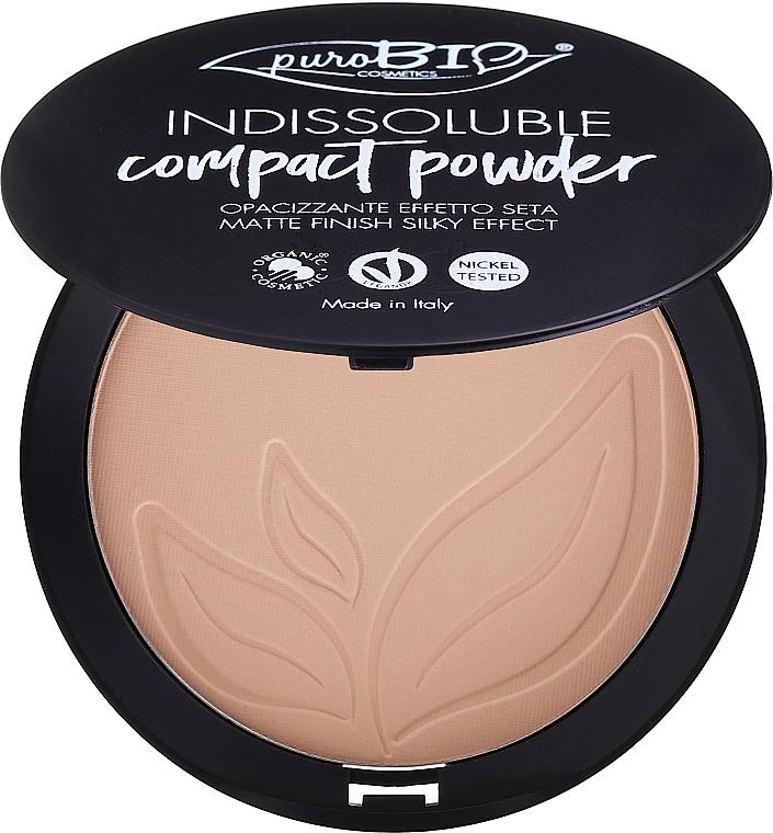 Compact Face Powder - PuroBio Cosmetics Compact Powder