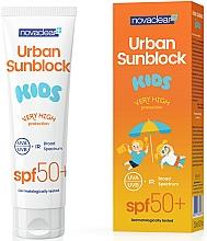 Fragrances, Perfumes, Cosmetics Sun Cream for Kids - Novaclear Urban Sunblock Kids SPF50