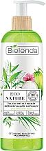 Fragrances, Perfumes, Cosmetics Facial Cleansing Gel - Bielenda Eco Nature Coconut Water Green Tea & Lemongrass Detox & Mattifyng Face Wash Gel