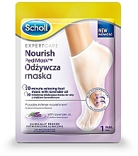 Fragrances, Perfumes, Cosmetics Foot Mask with Lavender Oil - Scholl Expert Care Foot Mask