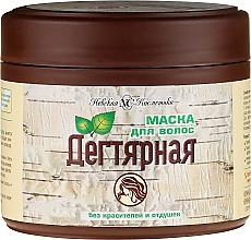 "Fragrances, Perfumes, Cosmetics Hair Mask ""Tar"" - Nevskaya Kosmetika"