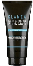 Fragrances, Perfumes, Cosmetics Cleansing Face Mask - Glamza Deep Cleaning Black Face Mask