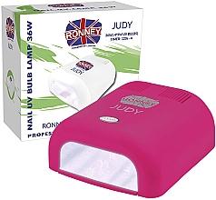 Fragrances, Perfumes, Cosmetics UV Nail Lamp, crimson - Ronney Profesional Judy UV 36W (GY-UV-230) Lamp
