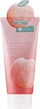 Fragrances, Perfumes, Cosmetics Body Scrub with Peach Extract - Welcos Around Me Natural Scrub Body Wash Peach