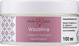 Fragrances, Perfumes, Cosmetics Rose Oil Face & Body Vaseline - Argan My Love