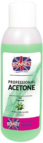 "Nail Polish Remover ""Aloe"" - Ronney Professional Acetone Aloe"