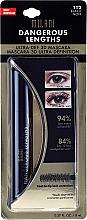 Fragrances, Perfumes, Cosmetics Lash Mascara in Blister - Milani Dangerous Lengths Ultra-Def 3D Mascara