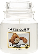 Fragrances, Perfumes, Cosmetics Candle in Glass Jar - Yankee Candle Soft Blanket
