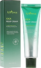 Fragrances, Perfumes, Cosmetics Soothing Face Cream - IsNtree Cica Relief Cream