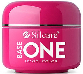 Nail Gel Polish - Silcare Base One Red Gel Color