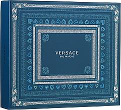 Fragrances, Perfumes, Cosmetics Versace Man Eau Fraiche - Set (edt/100ml + sh/gel/150ml + edt/10ml)