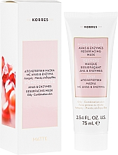 Fragrances, Perfumes, Cosmetics Revitalising Facial Mask - Korres Pomegranate Ahas & Enzymes Resurfacing Mask