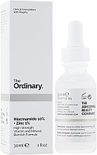 Fragrances, Perfumes, Cosmetics Niacinamide & Zinc Face Serum - The Ordinary Niacinamide 10% + Zinc PCA 1%