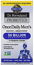 Fragrances, Perfumes, Cosmetics Men's Probiotics, capsules - Garden of Life Dr. Formulated Probiotics