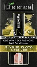 "Fragrances, Perfumes, Cosmetics Nail Conditioner ""Liquid Gold"" - Bielenda Liquid Gold Nail Conditioner"