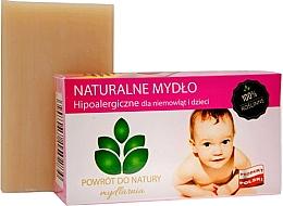 "Fragrances, Perfumes, Cosmetics Natural Soap ""Baby"" - Powrot do Natury Natural Soap for Baby"