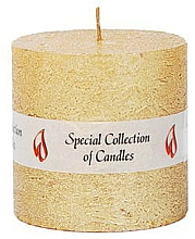 Fragrances, Perfumes, Cosmetics Natural Candle, 7,5 cm - Ringa Golden Glow Candle
