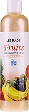 Fragrances, Perfumes, Cosmetics Shower Gel - Lebelage Relaxing Fruits Body Cleanser