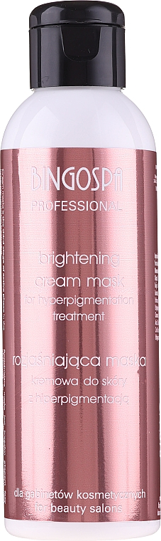 Brightening Anti-Hyperpigmentation Cream-Mask - BingoSpa Artline Brightening Cream Mask — photo N1